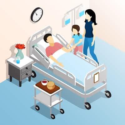 Cuidado de enfermos a domicilio