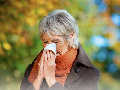 Curar la alergia al polen