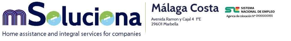 🥇 mSoluciona Málaga Costa – Marbella Logo